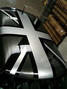 mini-cooper-graphics-blackjack in black + silver