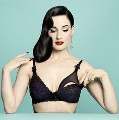 Dita Von Teese Makes Sexy Nursing Bra, Plus Other New Mommy Lingerie, For Her Von Follies Line