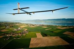 The creators of the Solar Impulse just announced their next big adventure: a round-the-world trip in a brand new sun-powered airplane. Renewable Energy, Solar Energy, Solar Power, Lausanne, Fly Around The World, Around The Worlds, World Industries, Round The World Trip, Cross Country Trip