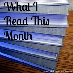 A list of what I read during the month of September, including reviews of each book.