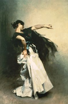 john singer sargent spanish dancer | Image: John Singer Sargent - The Spanish Dancer, study for 'El Jaleo'