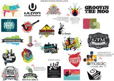 music festival logos - Google Search
