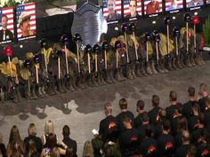 Memorial for the Granite Mountain Hotshots from ABC 15.