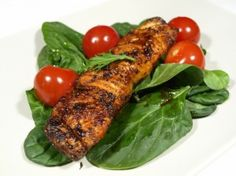 Pstruh pokaždé jinak - Babinet.cz Chipotle, Healthy Dishes, Foods To Eat, Tandoori Chicken, Breastfeeding, Sushi, Food And Drink, Turkey, Seafood