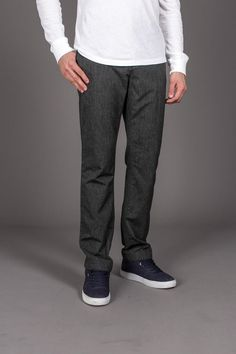 3rd & Army Cleveland Mrl- Marled Canvas Pant