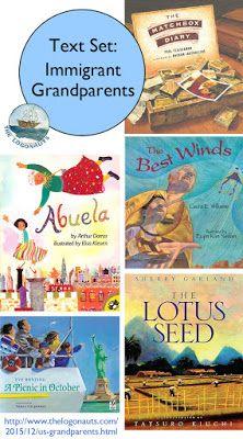 Text Set: Books Featuring Diverse US Grandparents and Grandchildren | The Logonauts - picture books featuring immigrant grandparents