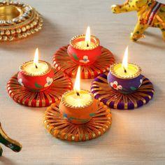 Diwali Decoration Items, Diya Decoration Ideas, Diwali Decorations At Home, Festival Decorations, Flower Decorations, Diwali Lantern, Diwali Candles, Diwali Lamps, Diwali Candle Holders
