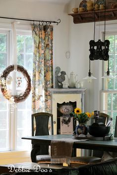 Freshening up the summer kitchen. Simple diy ideas and more.