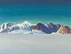 Rockwell Kent, BLUE DAY, GREENLAND