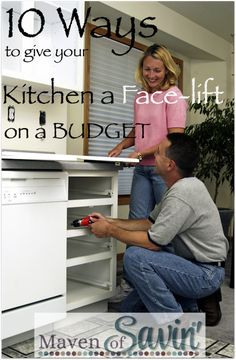 10 easy ways to give your kitchen a face-lift in a budget! What ways have you freshened up your kitchen?