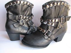 Studded Boots Available At Minkus Margo  Find Tools for DIY Projects and Design at Minkus Margo on Etsy and Ebay