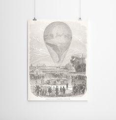 18 x 24 Vintage Poster Large Print of Champ de by anewalldecor