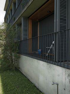 Spittelhof Housing Estate, Peter Zumthor | Biel-Benken | Switzerland