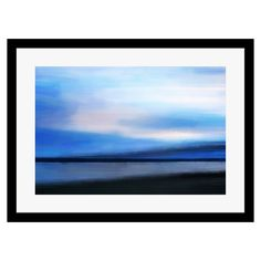 Paintings in Print - Twilight Barra, Framed Print, 40x50cm | ACHICA