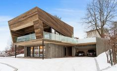 Vårdal Arkitekter, house in Norway (Wallpaper)