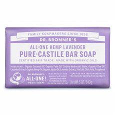 Dr Bronner's Pure-Castile Bar Soap - Lavender