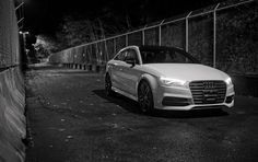 S3 Glacier White at Night. | Seattle, WA | AudiSeattle.com | Audi Seattle