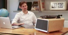 Seed All-in-one Turntable With Wireless Speaker