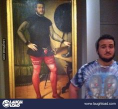 What if you went to a museum and saw a 300 year old painting of yourself?