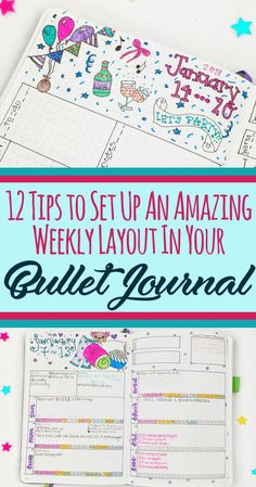 Bullet Journal Weekly Layout: 12 Tips for a Stellar Set Up - Planning Mindfully