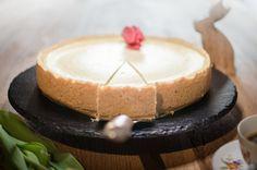 Cremiger Käsekuchen aus Sahnequark und Milch nach klassischer Art