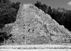 Mayan pyramid, Coba, Mexico