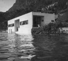GIORGIO GRASSI - CASA SUL LAGO D'ISEO, VELLO DI MARONE  1962
