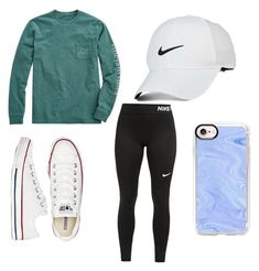 """Trendy"" by susie192002 on Polyvore featuring NIKE, Vineyard Vines, Converse and Casetify"