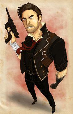 Bioshock Booker Dewitt