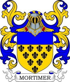 Mortimer Coat of Arms Meanings and Family Crest Artwork