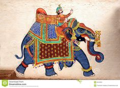 traditional folk motifs of elephants - Google Search