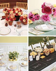 Martha Stewart Wedding Table Centerpieces | Trends of 2009 – DIY Wedding Flower Vases