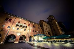 """The Silent Guardian"" Ferrara night by StoryTravelers, via Flickr"