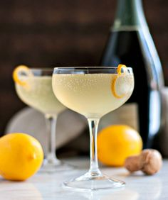 Meyer Lemon French 75
