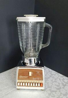 Vintage Osterizer Blender, Blender with Glass Jar, Retro Blender, Mid Century Blender, Vintage Kitchen Appliance, Retro Kitchen