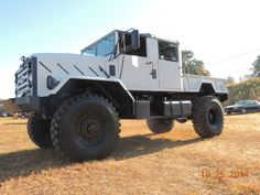 Custom M923A1 Crew Cab 4x4 Truck, Bugout, show truck, Monster Truck in Military Vehicles | eBay