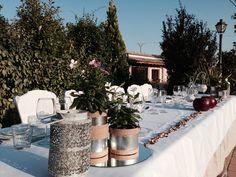 Mesa presidencial en jardín Azalea