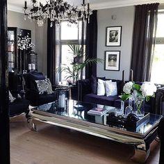 elegant gray living room ideas for amazing home 28 ~ mantulgan.me elegant gray living room ideas fo. Glam Living Room, Home And Living, Living Room Decor, Living Spaces, Bedroom Decor, Living Rooms, Romantic Living Room, Design Bedroom, Urban Deco