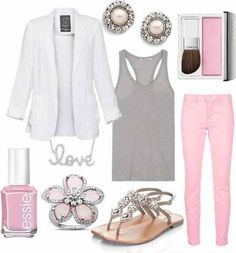Versatility and style is something that is outfit has. I could wear this out to the mall or to work.