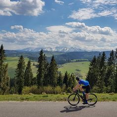 Snowy peaks of the Tatra mountains. Beautiful ride in southern Poland. Tatra Mountains, Cycling Outfit, Poland, Southern, Nature, Bicycle, Travel, Collections, Beautiful
