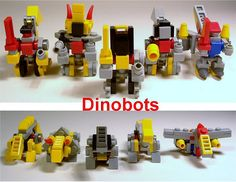 Dinobots (Micro-Mood Scale)   So, here they are: all of my D…   Flickr