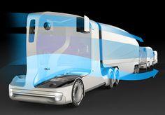 Autonomous Concept Truck by Zoltan Major