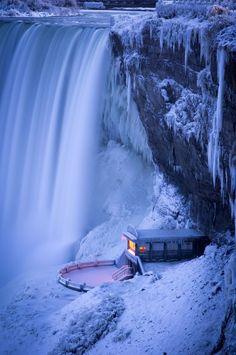 Niagara Falls in Winter Natural Wonder, Buckets Lists, Niagra Case, Winter, Niagara Falls