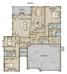 Floor Plan Details | Todd Campbell Construction