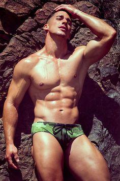 Gabriel Arocha for BoysGetWet swimwear by Adrian C. Martín