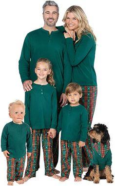 PajamaGram Matching Christmas PJs for Family, Christmas Tree Plaid, W XL / 16 at Women's Clothing store Matching Christmas Pjs, Family Christmas Pajamas Sets, Family Pajama Sets, Family Pjs, Matching Family Pajamas, Matching Pajamas, Cozy Fashion, Plaid, Christmas Tree