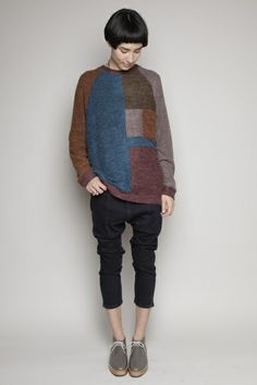 HENRIK VIBSKOV sweater, DIEPPA RESTREPO shoes
