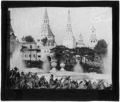 Paris, l'exposition universelle de 1900, le Trocadéro