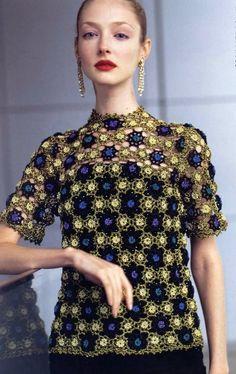 Crochetpedia: Crochet Shirt Blouse Patterns 2      ♪ ♪ ...#inspiration_crochet#diyGB