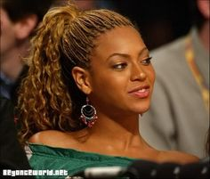 Check out Beyoncé with Virgin hair single tree braids in a high ponytail. How do you wear yours? E:universalhair2excel@yahoo.co.uk for more info